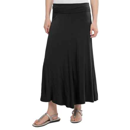 NAU Repose Skirt - Micromodal® (For Women) in Caviar - Closeouts