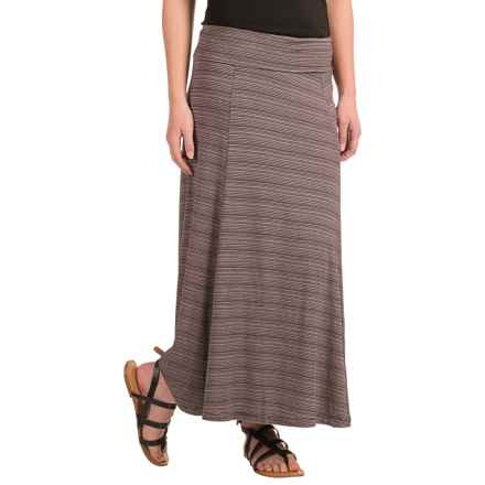 NAU Repose Skirt - Micromodal® (For Women) in Iris Stripe - Closeouts