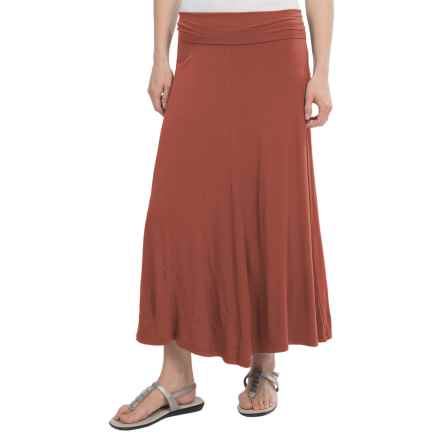 NAU Repose Skirt - Micromodal® (For Women) in Redrock - Closeouts
