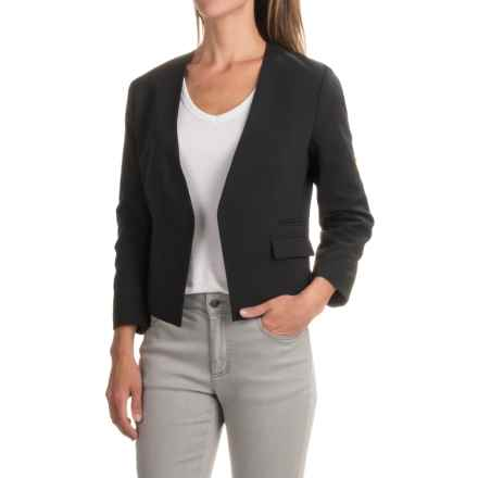 NAU Riding Blazer - 3/4 Sleeve (For Women) in Caviar - Closeouts