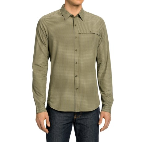 NAU Sketch Plaid Shirt Long Sleeve (For Men)