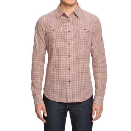 NAU Skyline Shirt - Organic Cotton, Long Sleeve (For Men) in Redrock Plaid - Closeouts