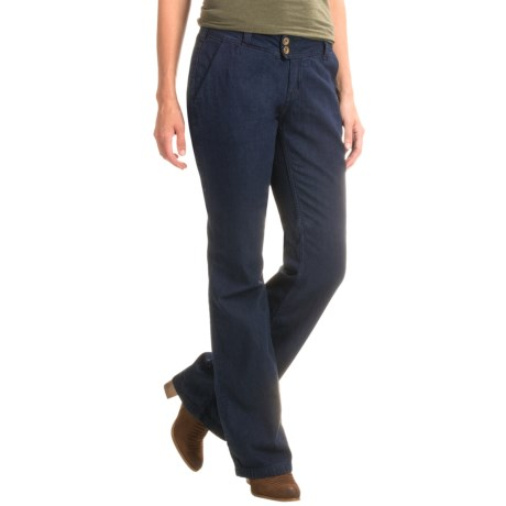 NAU Slacker Jeans - Organic Cotton (For Women) in Dark Indigo