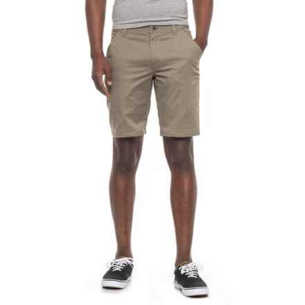 NAU Stretch Motil Cargo Shorts (For Men) in Vetiver Heather - Overstock