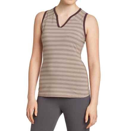 NAU Stylus Knit Tank Top - Organic Cotton-TENCEL® (For Women) in Ferment Stripe - Closeouts
