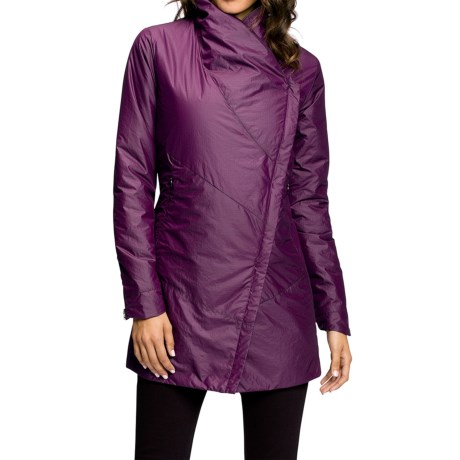 NAU Synfill Asym Jacket Insulated (For Women)