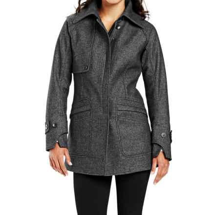 NAU Treble Jacket - Wool Blend (For Women) in Ash Heather - Closeouts