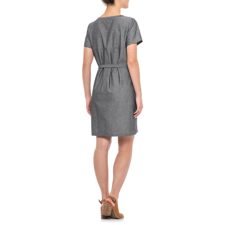 931f22936f0ee NAU Twisted Dress - Short Sleeve (For Women)