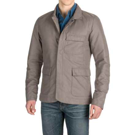 NAU Uptown Down Blazer (For Men) in Ash - Closeouts
