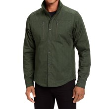 NAU Utility Work Shirt Jacket - Insulated, Organic Cotton (For Men) in Hemlock Heather - Closeouts