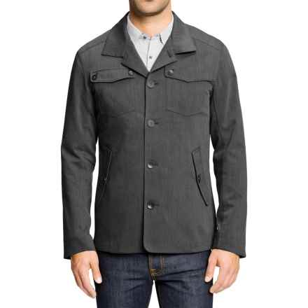NAU Vice II Blazer (For Men) in Caviar Heather - Closeouts