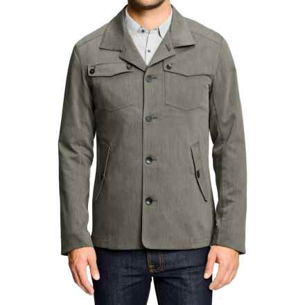 NAU Vice II Blazer (For Men) in Tar Heather - Closeouts