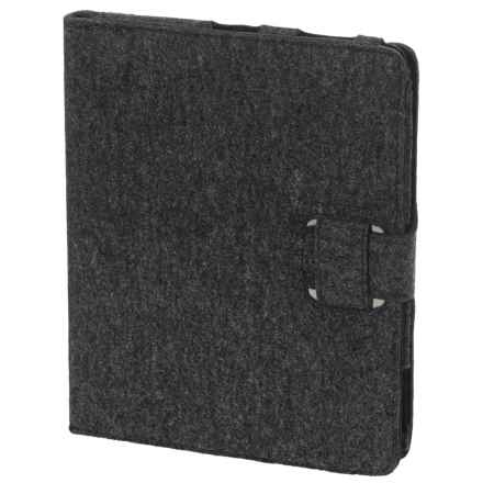NAU Wool Pad Stash Case in Caviar Heather - Closeouts