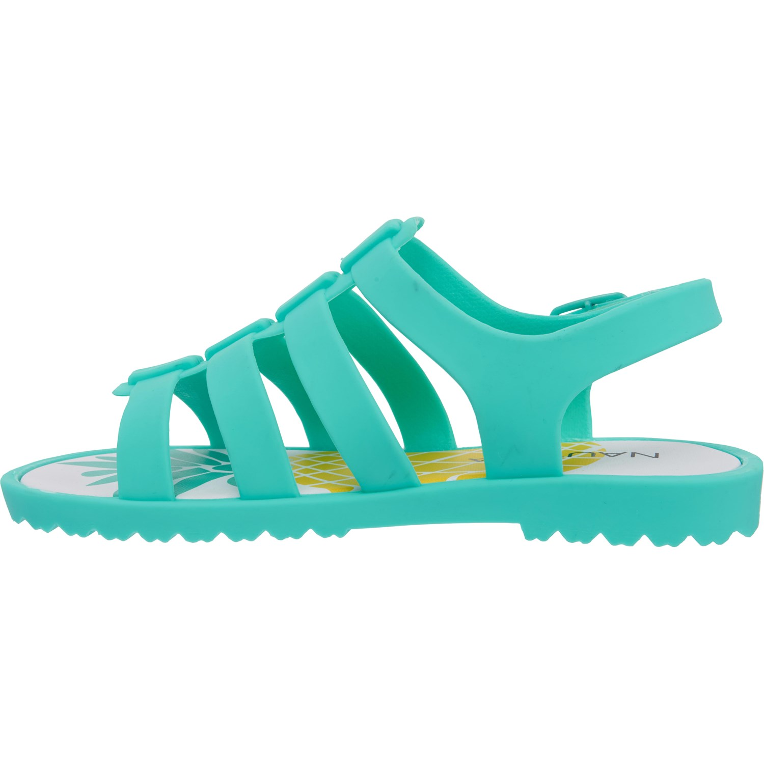 Nautica Sandalsfor Abeam Capri Girls Pineapple Blue 4A53RjL