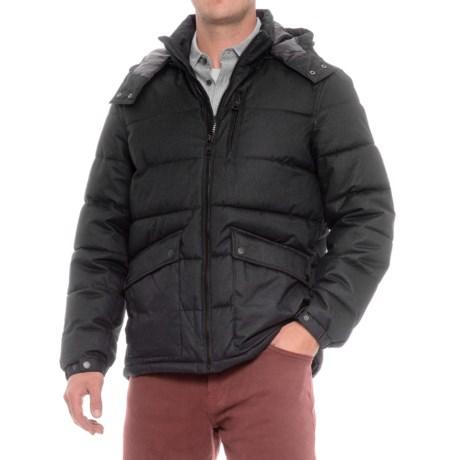 Nautica Brushed Herringbone Puffer Jacket - Insulated (For Men)