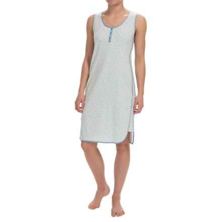 Nautica Jersey Nightgown - Sleeveless (For Women) in Ash Green - Overstock