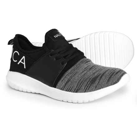 Kappil Knit Sneakers (For Women) in Black Knit