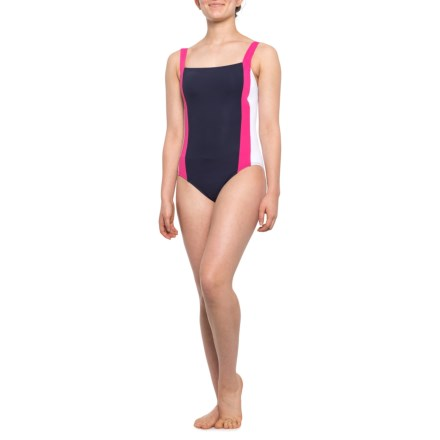 7454ac38c2609 Nautica OTS Bandeau One-Piece Swimsuit (For Women) in Warm