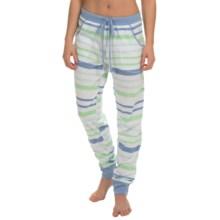 Nautica Sleepwear Multi-Stripe Pants (For Women) in Ash Green - Overstock