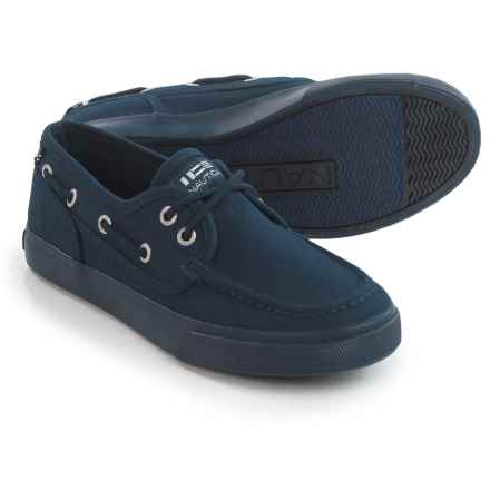 Nautica Spinnaker Sol Boat Shoes (For Boys) in Navy - Closeouts
