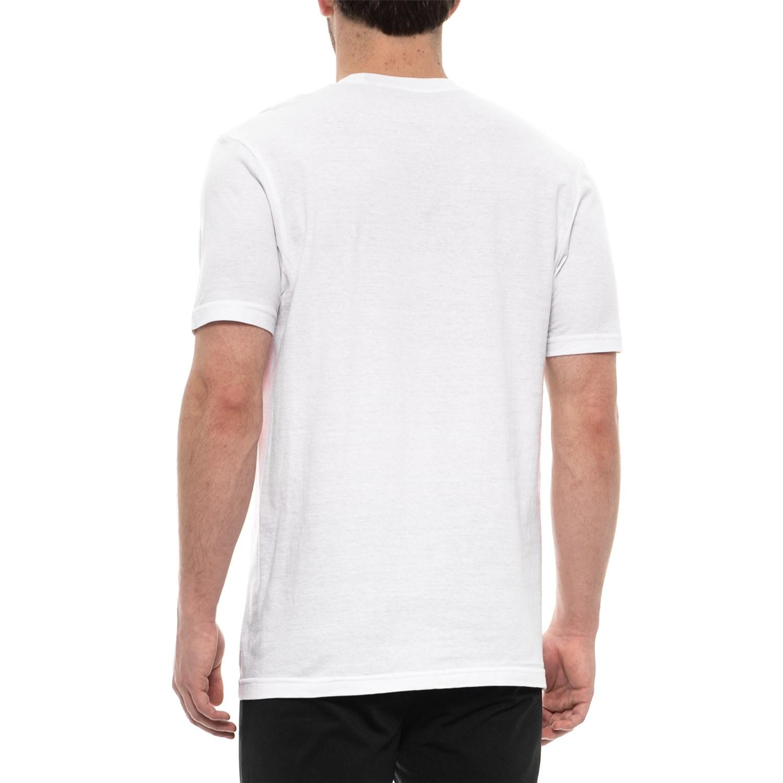 6e75a944 ... 661VN_2 Nautica White Cotton Crew Neck T-Shirts - 3-Pack, Short Sleeve