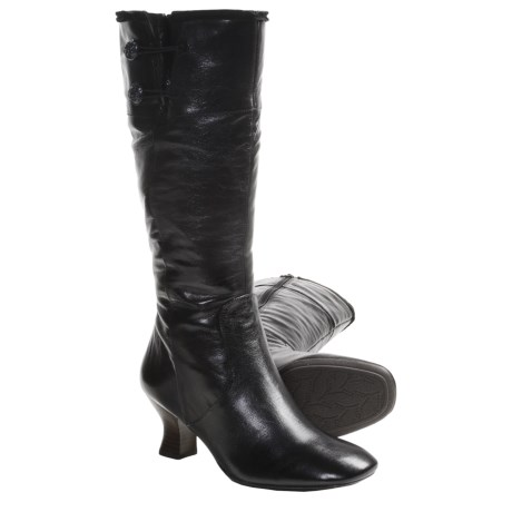 Naya Dalia Boots (For Women) in Black