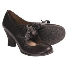 Naya Jada Mary Jane Pumps - Leather (For Women) in Oxford Brown - Closeouts