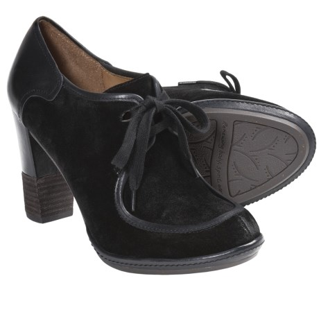 Naya Mindy Oxford Shoes (For Women) in Black