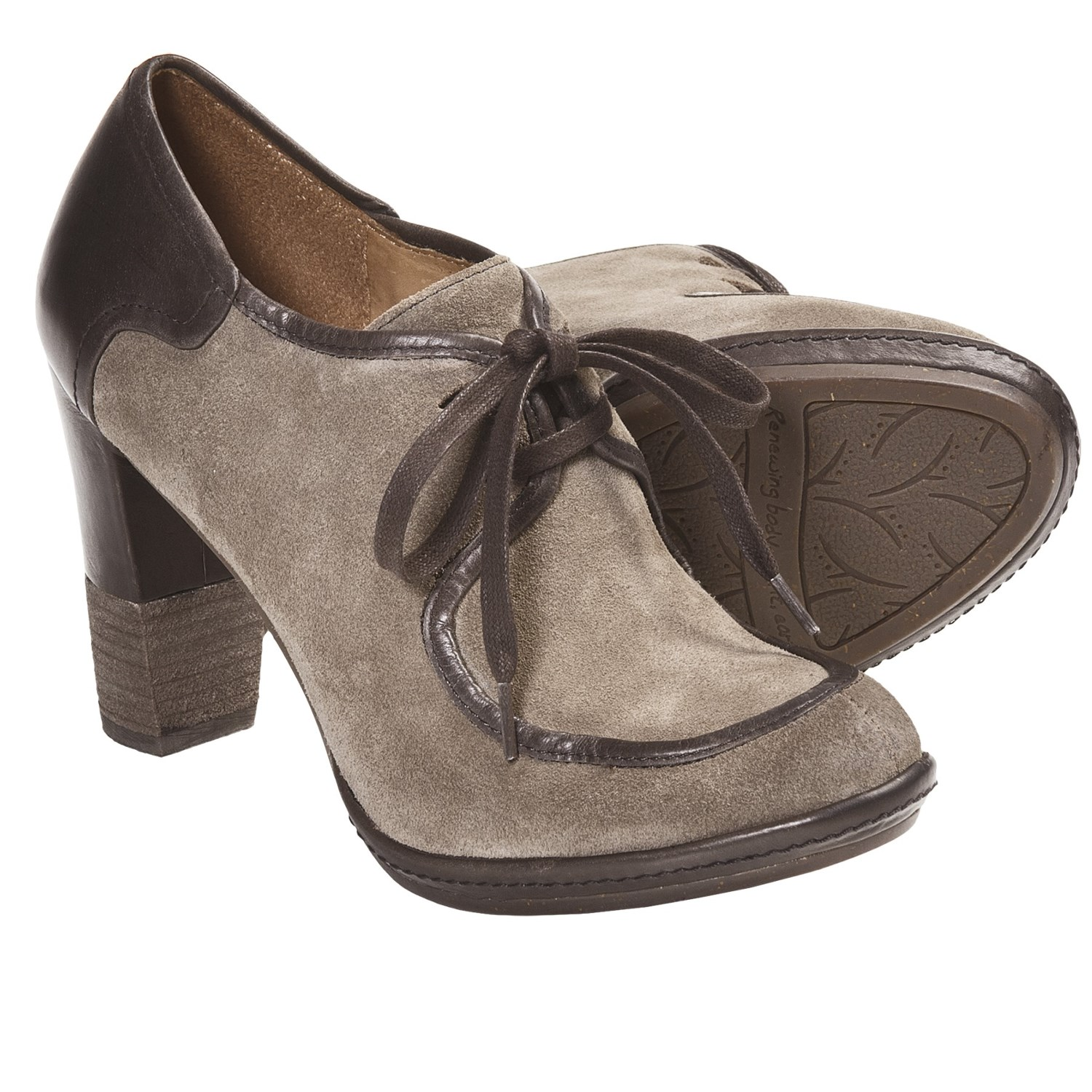 Naya Mindy Oxford Shoes (For Women) in Taupe/Brown