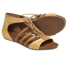 Naya Palomi Gladiator Sandals (For Women) in Hot Mustard - Closeouts