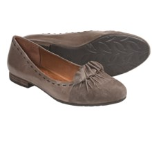 Naya Tabby Flats (For Women) in Taupe - Closeouts