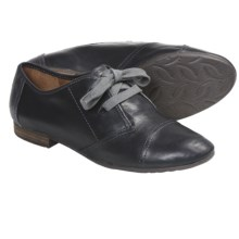 Naya Teak Shoes - Leather, Oxfords (For Women) in Black - Closeouts