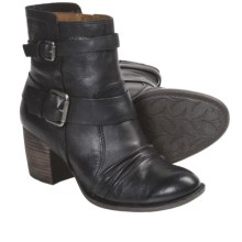 Naya Virtue Leather Boots (For Women) in Black - Closeouts