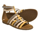 Naya Zamira Gladiator Sandals - Leather (For Women)