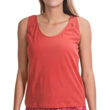 NCTO Buena Vista Gia Tank Top - Pima Cotton (For Women) in Guava - Closeouts