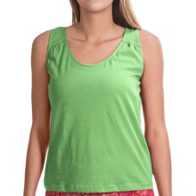 NCTO Buena Vista Gia Tank Top - Pima Cotton (For Women) in Keylime - Closeouts