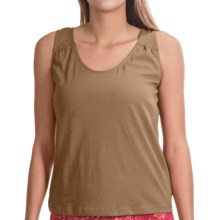 NCTO Buena Vista Gia Tank Top - Pima Cotton (For Women) in Latte - Closeouts