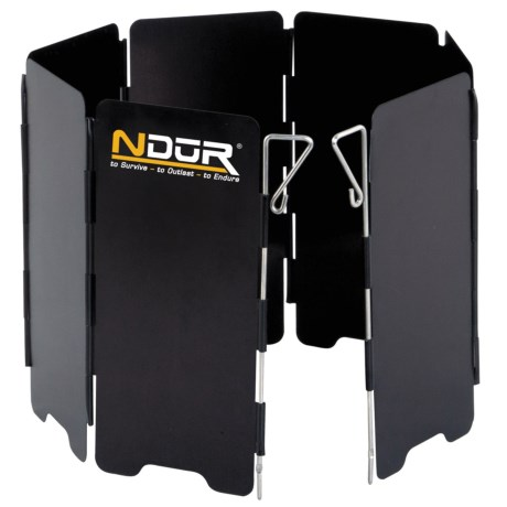 NDūR Mini Stove Wind Shield - Large in See Photo