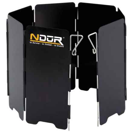 NDūR Mini Stove Wind Shield - Small in See Photo - Closeouts