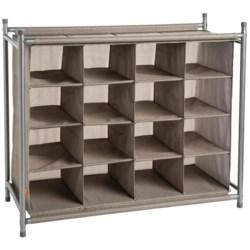 neatfreak!® 16-Compartment Shoe Organizer in Harmony Twill