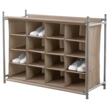 neatfreak!® 16-Compartment Shoe Organizer in String - Overstock