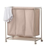 neatfreak! 3-Compartment Laundry Cart