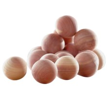 neatfreak! Cedar Balls - Set of 50 in Cedar - Overstock