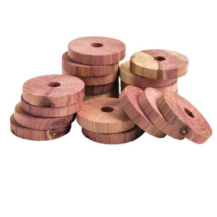neatfreak! Cedar Rings - Set of 20 in Cedar - Overstock