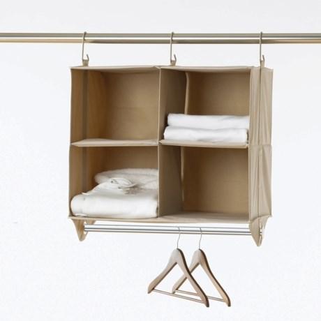neatfreak! closetMAX Hanging Four-Shelf Organizer with Bar