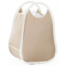 neatfreak! Collapsible Hamper Tote in Sand Pebble Taupe - Closeouts