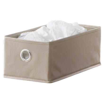 neatfreak! Collapsible Small Storage Box in Sand - Closeouts
