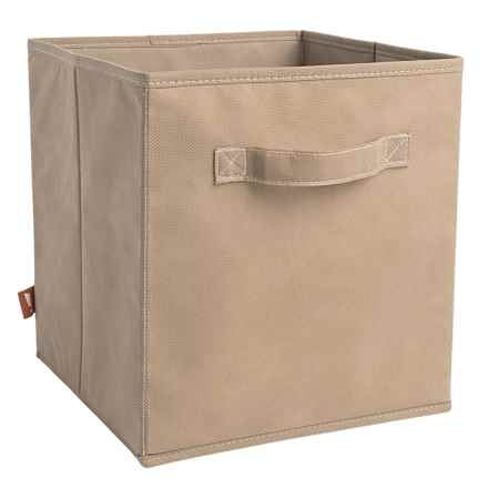 neatfreak! Collapsible Storage Cube in Beige - Closeouts