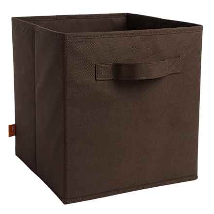 neatfreak! Collapsible Storage Cube in Brown - Closeouts