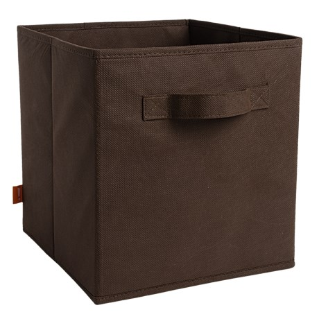 neatfreak! Collapsible Storage Cube in Brown